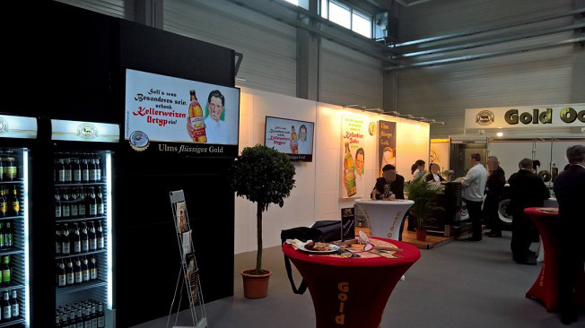 Messe Fachgastro Süd 2017 - Messedisplays
